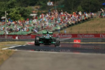 World © Octane Photographic Ltd. F1 Hungarian GP - Hungaroring, Saturday 27th July 2013 - Practice 3. Caterham F1 Team CT03 - Charles Pic. Digital Ref : 0763lw1d3435