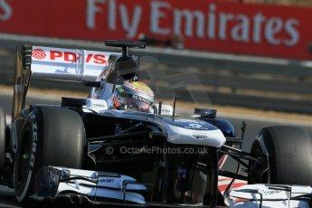 World © Octane Photographic Ltd. F1 Hungarian GP - Hungaroring. Friday 26th July 2013. F1 Practice 1. Williams FW35 - Pastor Maldonado. Digital Ref : 0758lw1d0789