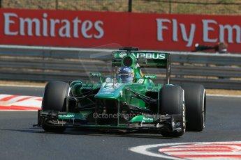 World © Octane Photographic Ltd. F1 Hungarian GP - Hungaroring. Friday 26th July 2013. F1 Practice 1. Caterham F1 Team CT03 - Charles Pic. Digital Ref : 0758lw1d0794