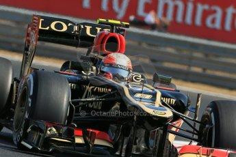 World © Octane Photographic Ltd. F1 Hungarian GP - Hungaroring. Friday 26th July 2013. F1 Practice 1. Lotus F1 Team E21 - Romain Grosjean. Digital Ref : 0758lw1d0809