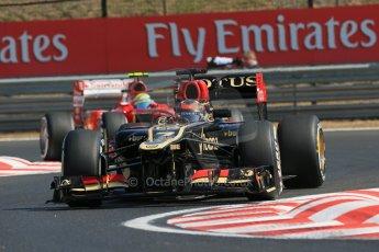 World © Octane Photographic Ltd. F1 Hungarian GP - Hungaroring. Thursday. 25th July 2013. F1 Practice 1. Lotus F1 Team E21 - Kimi Raikkonen. Digital Ref : 0758lw1d0867