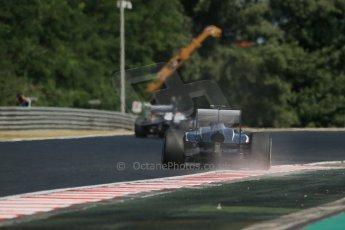 World © Octane Photographic Ltd. F1 Hungarian GP - Hungaroring. Friday 26th July 2013. F1 Practice 1. Williams FW35 - Valtteri Bottas. Digital Ref : 0758lw1d1139