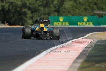 World © Octane Photographic Ltd. F1 Hungarian GP - Hungaroring. Friday 26th July 2013. F1 Practice 1. Caterham F1 Team CT03 - Charles Pic. Digital Ref : 0758lw1d1185