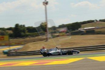 World © Octane Photographic Ltd. GP2 Hungarian GP, Hungaroring, Friday 26th July 2013. Practice. Nathanaël Berthon - Trident Racing. Digital Ref : 0759lw1d0536