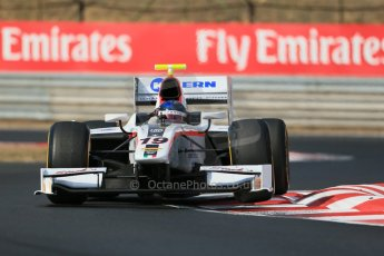 World © Octane Photographic Ltd. GP2 Hungarian GP, Hungaroring, Friday 26th July 2013. Qualifying. Simon Trummer – Rapax. Digital Ref : 0761lw1d2510