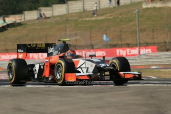 World © Octane Photographic Ltd. GP2 Hungarian GP, Hungaroring, Friday 26th July 2013. Qualifying. Daniel De Jong - MP Motorsport. Digital Ref : 0761lw1d2790
