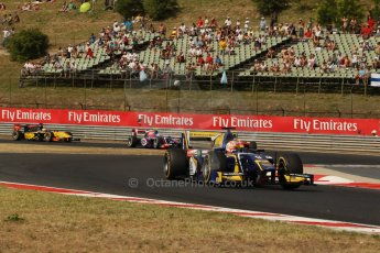 World © Octane Photographic Ltd. GP2 Hungarian GP, Hungaroring, Saturday 27th July 2013. Race 1. Digital Ref : 0765lw1d1255