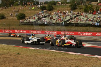 World © Octane Photographic Ltd. GP2 Hungarian GP, Hungaroring, Saturday 27th July 2013. Race 1. Digital Ref : 0765lw1d1298