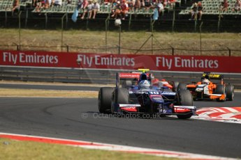 World © Octane Photographic Ltd. GP2 Hungarian GP, Hungaroring - Budapest, Sunday 28th July 2013. Race 2. Jolyon Palmer - Carlin. Digital Ref : 0768lw1d1809