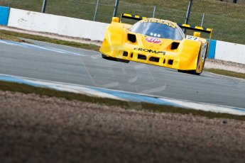 World © Octane Photographic Ltd. Masters Testing – Thursday 4th April 2013. Nissan R90 CK - Steve Tandy. Digital ref : 0629ce1d0105