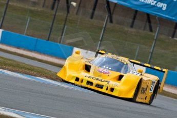 World © Octane Photographic Ltd. Masters Testing – Thursday 4th April 2013. Nissan R90 CK - Steve Tandy. Digital ref : 0629ce1d0122