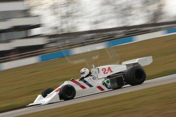 World © Octane Photographic Ltd. Masters Testing – Thursday 4th April 2013. FIA Masters Historic Formula One Championship. Digital ref : 0629ce1d0380