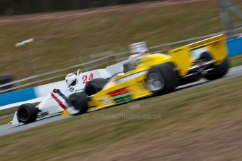 World © Octane Photographic Ltd. Masters Testing – Thursday 4th April 2013. FIA Masters Historic Formula One Championship. Bob Berridge. Ex-Emerson Fittipaldi F5A2. Digital ref : 0629ce1d0453