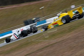 World © Octane Photographic Ltd. Masters Testing – Thursday 4th April 2013. FIA Masters Historic Formula One Championship. Bob Berridge. Ex-Emerson Fittipaldi F5A2. Digital ref : 0629ce1d0454