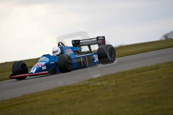 World © Octane Photographic Ltd. Masters Testing – Thursday 4th April 2013. FIA Masters Historic Formula One Championship. Digital ref : 0629ce1d0582