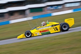 World © Octane Photographic Ltd. Masters Testing – Thursday 4th April 2013. FIA Masters Historic Formula One Championship. Bob Berridge. Ex-Emerson Fittipaldi F5A2. Digital ref : 0629ce1d0650