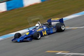 World © Octane Photographic Ltd. Masters Testing – Thursday 4th April 2013. FIA Masters Historic Formula One Championship. Digital ref : 0629ce1d0749