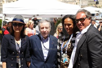 World © Octane Photographic Ltd. F1 Monaco GP, Monte Carlo - Sunday 26th May - Race. FIA president Jean Todt. Digital Ref : 0711lw7d9807
