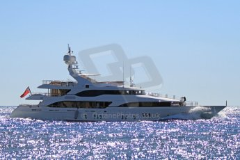 """World © Octane Photographic Ltd. The Benetti Yachts built, created by Molori Designs' Kirk Lazarus, the 43.6m charter yacht """"Told U So"""". Digital Ref : 07137d2998"""