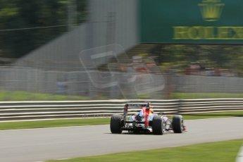 World © Octane Photographic Ltd. F1 Italian GP - Monza, Friday 6th September 2013 - Practice 2. Infiniti Red Bull Racing RB9 - Sebastian Vettel. Digital Ref : 0813cb7d5323