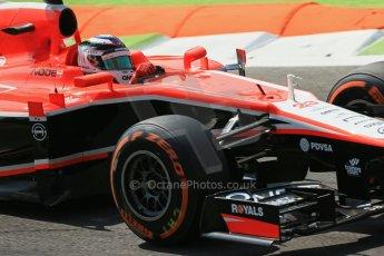 World © Octane Photographic Ltd. F1 Italian GP - Monza, Friday 6th September 2013 - Practice 2. Marussia F1 Team MR02 - Jules Bianchi. Digital Ref : 0813lw1d2688