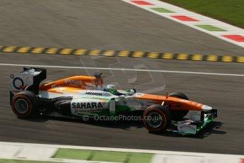 World © Octane Photographic Ltd. F1 Italian GP - Monza, Friday 6th September 2013 - Practice 2. Sahara Force India VJM06 - Paul di Resta. Digital Ref : 0813lw1d42299