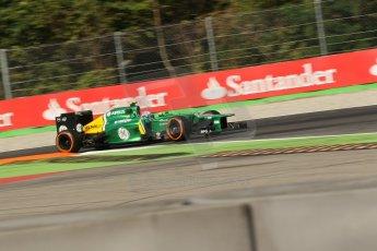World © Octane Photographic Ltd. F1 Italian GP - Monza, Saturday 7th September 2013 - Practice 3. Caterham F1 Team CT03 - Giedo van der Garde. Digital Ref :