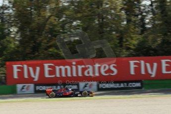 World © Octane Photographic Ltd. F1 Italian GP - Monza, Saturday 7th September 2013 - Practice 3. Scuderia Toro Rosso STR 8 - Daniel Ricciardo. Digital Ref :