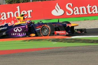 World © Octane Photographic Ltd. F1 Italian GP - Monza, Saturday 7th September 2013 - Practice 3. Infiniti Red Bull Racing RB9 - Mark Webber. Digital Ref :