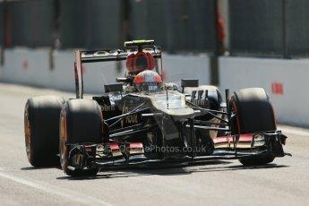 World © Octane Photographic Ltd. F1 Italian GP - Monza, Saturday 7th September 2013 - Qualifying. Lotus F1 Team E21 - Romain Grosjean. Digital Ref :