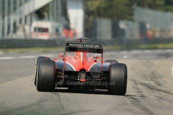 World © Octane Photographic Ltd. F1 Italian GP - Monza, Saturday 7th September 2013 - Qualifying. Marussia F1 Team MR02 - Max Chilton. Digital Ref :