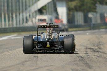 World © Octane Photographic Ltd. F1 Italian GP - Monza, Saturday 7th September 2013 - Qualifying. Lotus F1 Team E21 - Kimi Raikkonen. Digital Ref :
