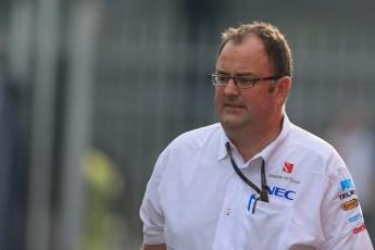 World © Octane Photographic Ltd. F1 Italian GP - Monza, Sunday 8th September 2013 - Paddock. Tom McCullough - Sauber F1 Team. Digital Ref :