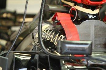 World © Octane Photographic Ltd. F1 Italian GP - Monza, Friday 6th September 2013 - Practice 1. Lotus F1 Team E21 car detail. Digital Ref : 0811cb7d5064