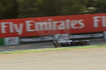 World © Octane Photographic Ltd. F1 Italian GP - Monza, Friday 6th September 2013 - Practice 1. Williams FW35 - Valtteri Bottas. Digital Ref : 0811lw1d2071
