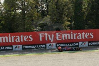 World © Octane Photographic Ltd. F1 Italian GP - Monza, Friday 6th September 2013 - Practice 1. Scuderia Toro Rosso STR8 - Jean-Eric Vergne. Digital Ref : 0811lw1d42180