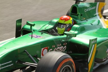 World © Octane Photographic Ltd. GP2 Italian GP, Monza, Friday 6th September 2013. Practice. Sergio Canamasas – EQ8 Caterham Racing. Digital Ref : 0812cb7d5140