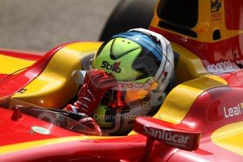 ld © Octane Photographic Ltd. GP2 Italian GP, Monza, Friday 6th September 2013. Practice Julián Leal - Racing Engineering. Digital Ref : 0812cb7d5200