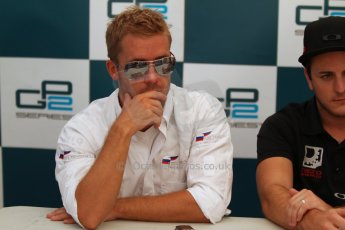 World © Octane Photographic Ltd. GP2 Italian GP, Monza, Saturday 7th September 2013. Race 1. Sam Bird (2nd)  – Russian TIME. Digital Ref :