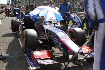 World © Octane Photographic Ltd. GP2 Italian GP, Monza, Saturday 7th September 2013. Race 1. Jolyon Palmer on the grid - Carlin. Digital Ref :