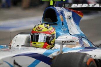 World © Octane Photographic Ltd. GP2 Italian GP, Monza, Sunday 8th September 2013. Race 2. Rio Haryanto - Barwa Addax Team. Digital Ref :