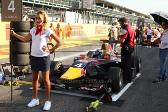 World © Octane Photographic Ltd. GP3 Italian GP - Race 1, Monza, Saturday 7th September 2013 - Carlos Sainz Jnr. Digital ref :