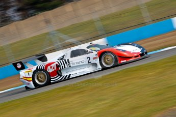 World © Octane Photographic Ltd./Chris Enion. Britcar MSA British Endurance Championship – Donington Park, Saturday 13th April 2013, Qualifying. Javier Morcillo/Manuel Cintrano - Mosler MT900R. Digital ref : 0631ce1d0904