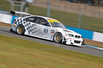 World © Octane Photographic Ltd./Chris Enion. Britcar MSA British Endurance Championship – Donington Park, Saturday 13th April 2013, Qualifying. Tom Webb/James Webb – BMW M3 GTR – Team Webb. Digital ref : 0631ce1d0948