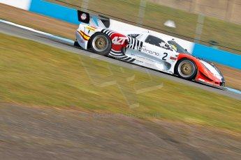 World © Octane Photographic Ltd./Chris Enion. Britcar MSA British Endurance Championship – Donington Park, Saturday 13th April 2013, Qualifying. Javier Morcillo/Manuel Cintrano - Mosler MT900R. Digital ref : 0631ce1d0981