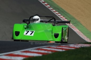 World © Carl Jones/Octane Photographic Ltd. Saturday 3rd August 2013. OSS - Brands Hatch - Qualifying. John Grey - Jade. Digital Ref : 0771CJ7D0013