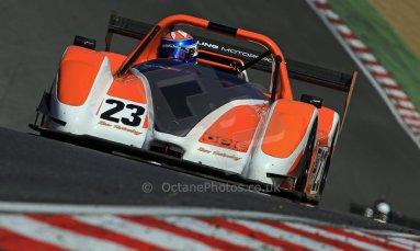 World © Carl Jones/Octane Photographic Ltd. Saturday 3rd August 2013. OSS - Brands Hatch - Qualifying. Simon Tilling - Radical SR3. Digital Ref : 0771CJ7D0015