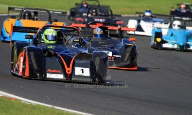 World © Carl Jones/Octane Photographic Ltd. Saturday 3rd August 2013. OSS - Brands Hatch - Race 1. Darcy Smith - Radical SR4. Digital Ref : 0772cj7d0010
