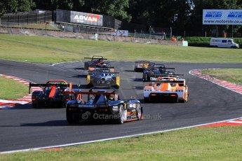 World © Carl Jones/Octane Photographic Ltd. Saturday 3rd August 2013. OSS - Brands Hatch - Race 1. The Start.  Digital Ref: 0772cj7d0036