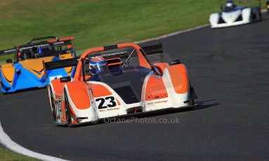 World © Carl Jones/Octane Photographic Ltd. Saturday 3rd August 2013. OSS - Brands Hatch - Race 1. Simon Tilling - Radical SR3. Digital Ref : 07727d0084